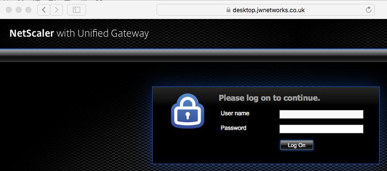 SCUS Gateway Page